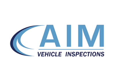AIM Vehicle Inspections logo.