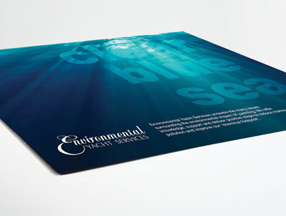 Environmental Yacht Services flyer.